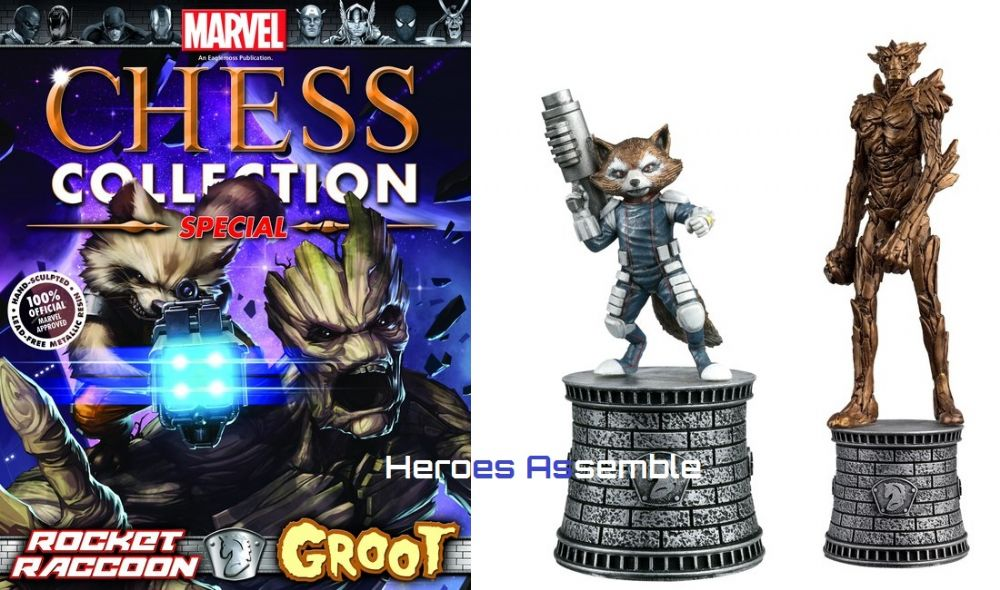 Marvel Chess Collection Special 2 Rocket Raccoon Amp Groot